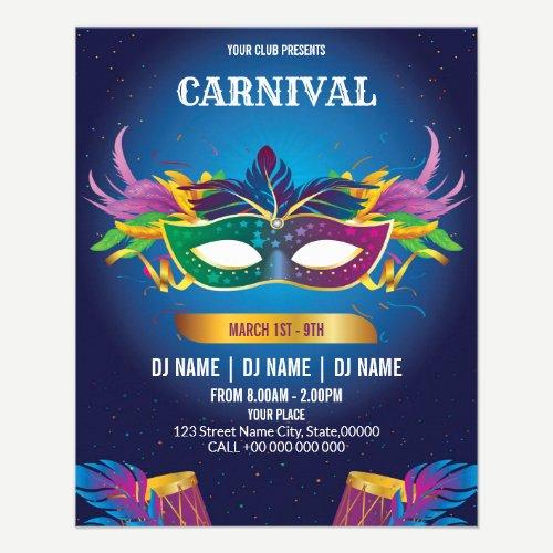 Carnival Event Invitation Flyer