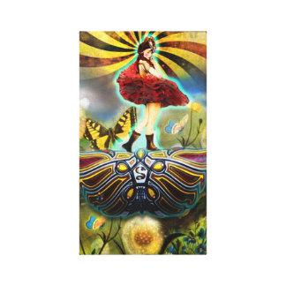 Carnival Fairy Canvas Print