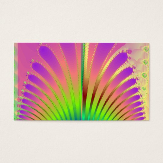 Carnival Feathers Business Card