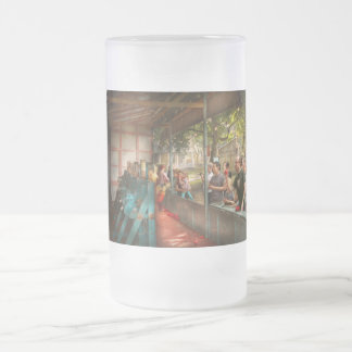 Carnival - Game - A game of skill Frosted Glass Beer Mug