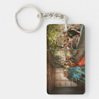 Carnival - Game - A game of skill Rectangular Acrylic Key Chain