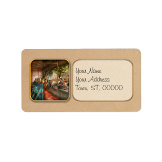 Carnival - Game - A game of skill Address Label