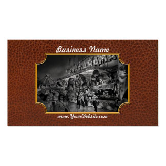 Carnival - Game-A-Rama Business Card
