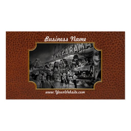 Carnival - Game-A-Rama Business Card Templates