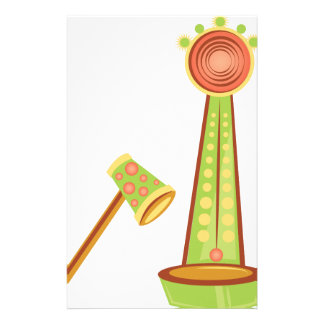 Carnival Game Stationery