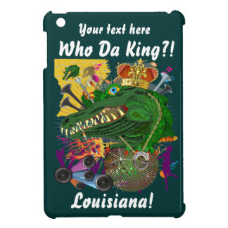 Carnival Gator King  Important View Hints please iPad Mini Case