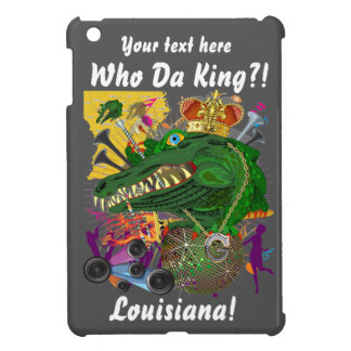 Carnival Gator King  Important View Hints please iPad Mini Covers