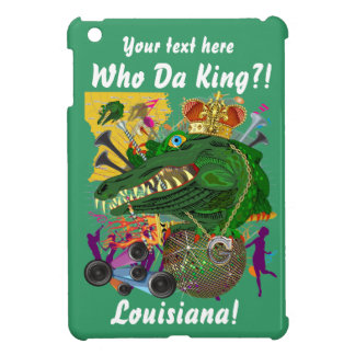 Carnival Gator King  Important View Hints please iPad Mini Cases