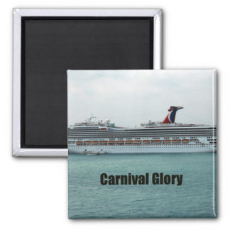 Carnival Glory 2 Inch Square Magnet