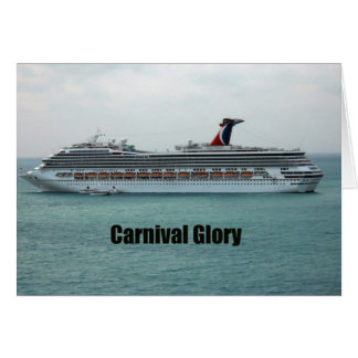 Carnival Glory Cards