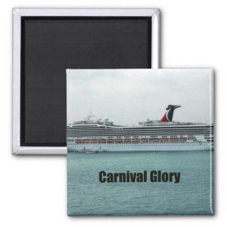 Carnival Glory Fridge Magnets