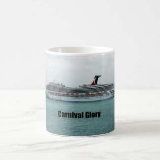 Carnival Glory Classic White Coffee Mug