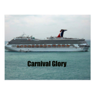 Carnival Glory Postcard
