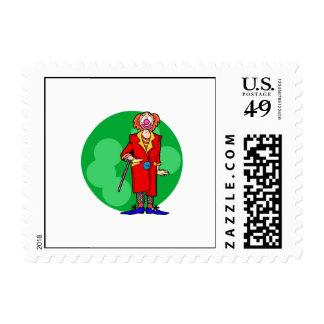 Carnival Hobo Postage Stamps