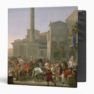 Carnival in Rome, c.1650-51 Vinyl Binder