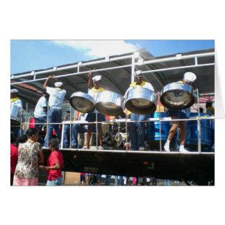 Carnival in San Fernanado Trinidad Card