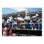 Carnival in San Fernanado Trinidad Greeting Card