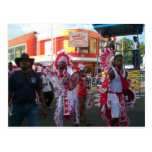 Carnival in San Fernando Trinidad Postcard