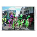 Carnival in Trinidad Greeting Cards