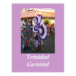 Carnival in Trinidad Postcard