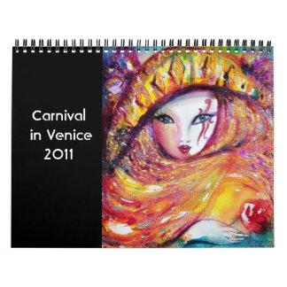 Carnival in Venice 2  -2011 / Dance,Music ,Theater Calendars