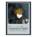 Carnival in Venice Post Card