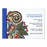 """Carnival Invitation 5"""" X 7"""" Invitation Card"""
