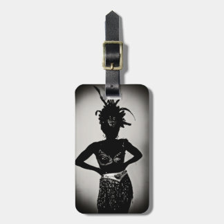 carnival is a b**** luggage tag