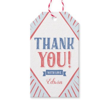 Carnival Kids Thank You Favor Gift Tag