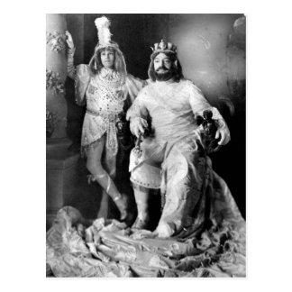 Carnival King & Prince Postcard