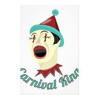 Carnival King Stationery