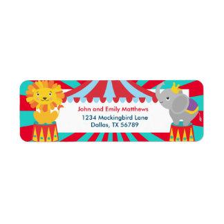 Carnival Label