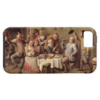Carnival: 'Le Roi Boit', 1690 (oil on copper) iPhone SE/5/5s Case