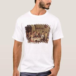 Carnival: 'Le Roi Boit', 1690 (oil on copper) T-Shirt