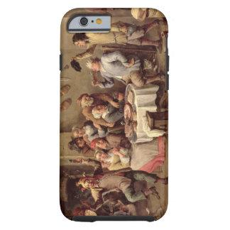 Carnival: 'Le Roi Boit', 1690 (oil on copper) Tough iPhone 6 Case