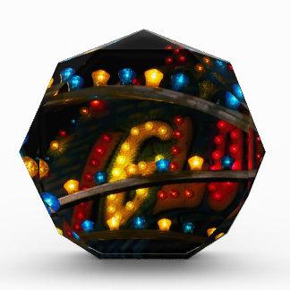 Carnival Lights Acrylic Award