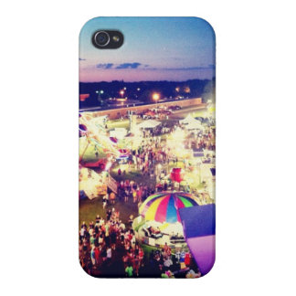 Carnival Lights Cover For iPhone 4