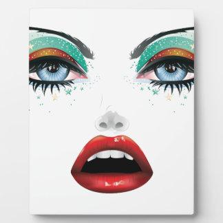 Carnival Makeup Plaque