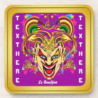 Carnival Mardi Gras  Event  Please View Notes Beverage Coaster