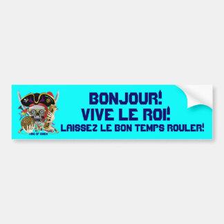 Carnival Mardi Gras  Event  Please View Notes Car Bumper Sticker