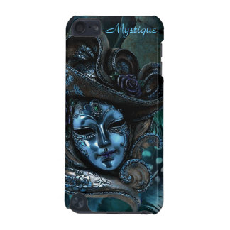 Carnival Mask - Blue Damask iPod Touch 5g Case