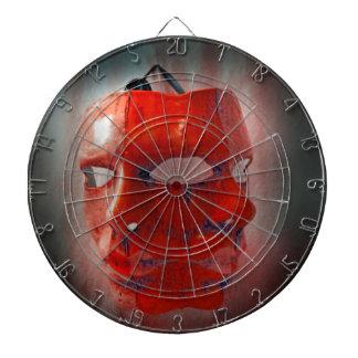 carnival mask dart boards