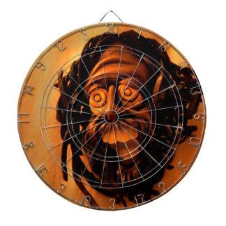 carnival mask dart board