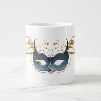 Carnival Mask Giant Coffee Mug