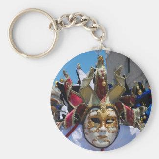 Carnival mask Keychain