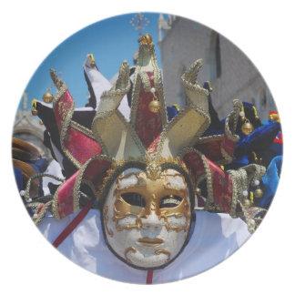 Carnival Mask Plate