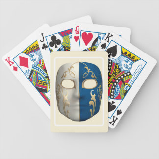 Carnival Mask Bicycle Playing Cards