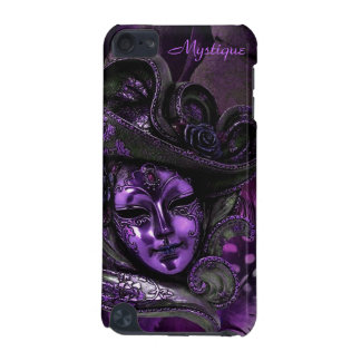 Carnival Mask - Purple Damask iPod Touch 5g Case
