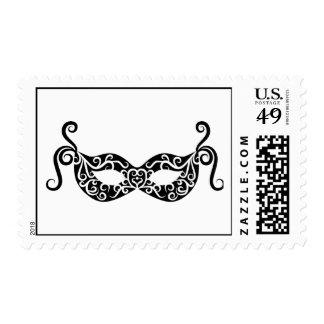 Carnival mask stamp