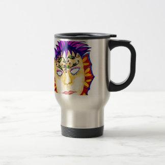 Carnival Mask Watercolor 2 Travel Mug